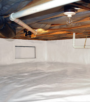 A complete crawl space repair project completed in Houston