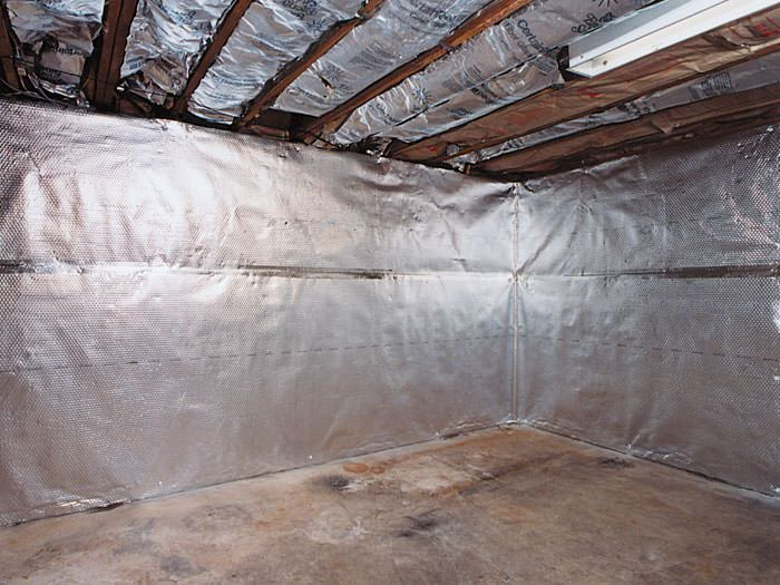 ... An Energy Efficient Radiant Heat And Vapor Barrier For A Crosby Basement  Finishing Project