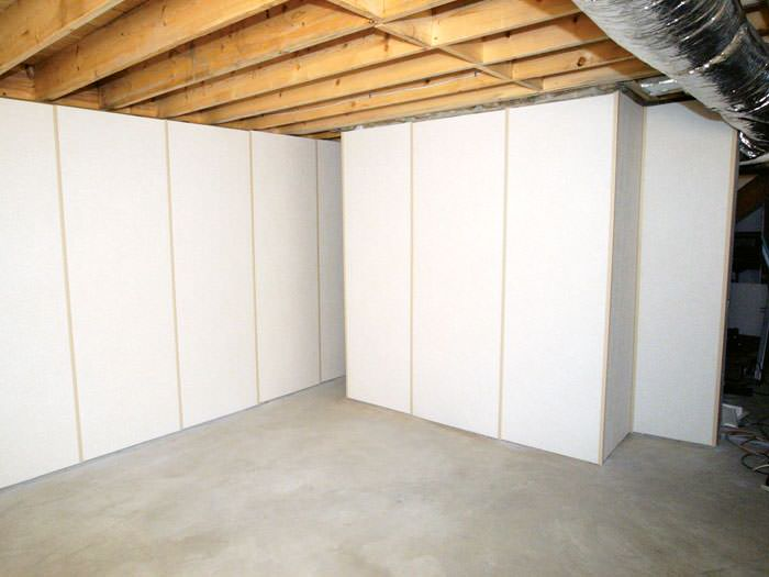 Insulated Basement Wall Panels Installed In TX Basement Wall Panels For Ins